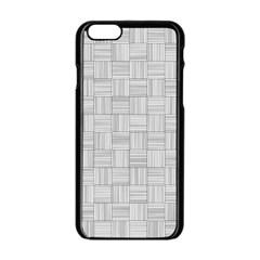 Flooring Household Pattern Apple Iphone 6/6s Black Enamel Case