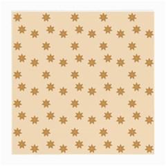 Pattern Gingerbread Star Medium Glasses Cloth (2 Side) by Nexatart