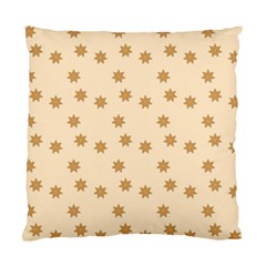 Pattern Gingerbread Star Standard Cushion Case (one Side) by Nexatart