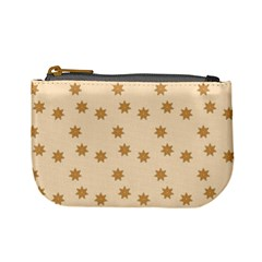 Pattern Gingerbread Star Mini Coin Purses