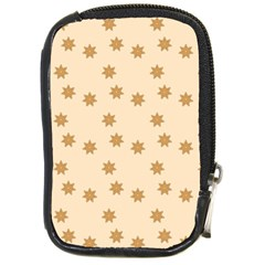 Pattern Gingerbread Star Compact Camera Cases by Nexatart