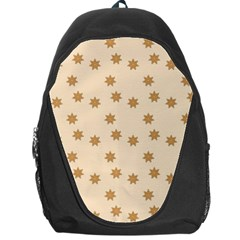 Pattern Gingerbread Star Backpack Bag