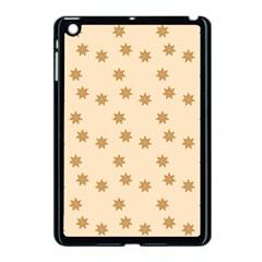 Pattern Gingerbread Star Apple Ipad Mini Case (black)