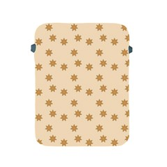 Pattern Gingerbread Star Apple Ipad 2/3/4 Protective Soft Cases by Nexatart