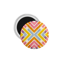 Line Pattern Cross Print Repeat 1 75  Magnets by Nexatart