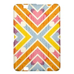 Line Pattern Cross Print Repeat Kindle Fire Hd 8 9  by Nexatart