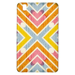 Line Pattern Cross Print Repeat Samsung Galaxy Tab Pro 8 4 Hardshell Case