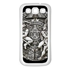 Pattern Motif Decor Samsung Galaxy S3 Back Case (white) by Nexatart