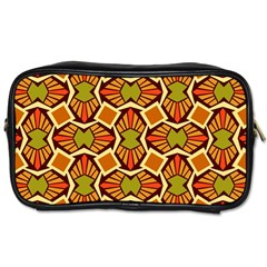 Geometry Shape Retro Trendy Symbol Toiletries Bags 2 Side by Nexatart