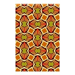 Geometry Shape Retro Trendy Symbol Shower Curtain 48  X 72  (small)  by Nexatart