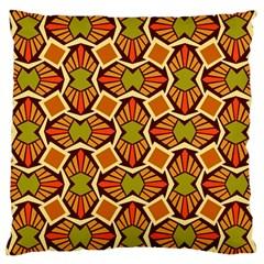 Geometry Shape Retro Trendy Symbol Large Cushion Case (two Sides)