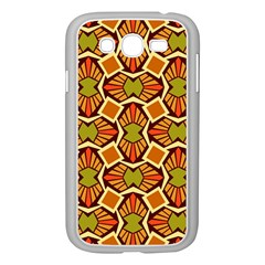 Geometry Shape Retro Trendy Symbol Samsung Galaxy Grand Duos I9082 Case (white) by Nexatart