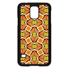 Geometry Shape Retro Trendy Symbol Samsung Galaxy S5 Case (black)