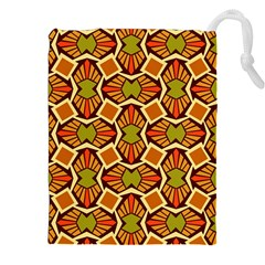 Geometry Shape Retro Trendy Symbol Drawstring Pouches (xxl)