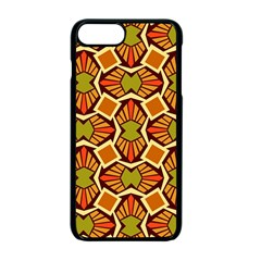 Geometry Shape Retro Trendy Symbol Apple Iphone 7 Plus Seamless Case (black) by Nexatart