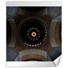 Pattern Design Symmetry Up Ceiling Canvas 20  X 24   by Nexatart