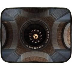 Pattern Design Symmetry Up Ceiling Fleece Blanket (mini) by Nexatart
