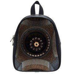 Pattern Design Symmetry Up Ceiling School Bags (small)  by Nexatart