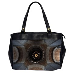 Pattern Design Symmetry Up Ceiling Office Handbags (2 Sides)  by Nexatart