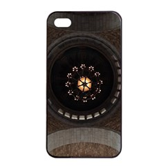 Pattern Design Symmetry Up Ceiling Apple Iphone 4/4s Seamless Case (black) by Nexatart