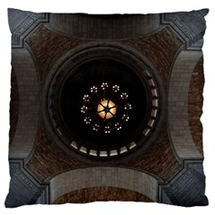 Pattern Design Symmetry Up Ceiling Large Cushion Case (one Side)