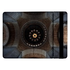 Pattern Design Symmetry Up Ceiling Samsung Galaxy Tab Pro 12 2  Flip Case