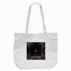 Pattern Design Symmetry Up Ceiling Tote Bag (white) by Nexatart