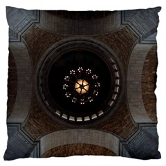 Pattern Design Symmetry Up Ceiling Large Flano Cushion Case (two Sides) by Nexatart