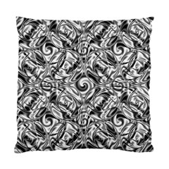 Gray Scale Pattern Tile Design Standard Cushion Case (two Sides) by Nexatart