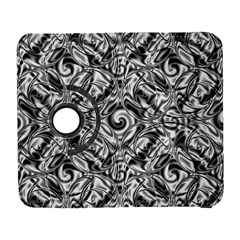 Gray Scale Pattern Tile Design Galaxy S3 (flip/folio) by Nexatart