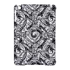 Gray Scale Pattern Tile Design Apple Ipad Mini Hardshell Case (compatible With Smart Cover) by Nexatart