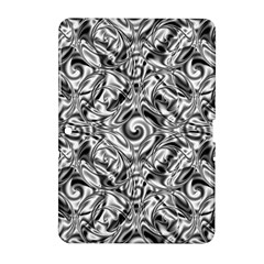 Gray Scale Pattern Tile Design Samsung Galaxy Tab 2 (10 1 ) P5100 Hardshell Case  by Nexatart