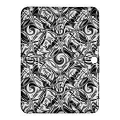 Gray Scale Pattern Tile Design Samsung Galaxy Tab 4 (10 1 ) Hardshell Case