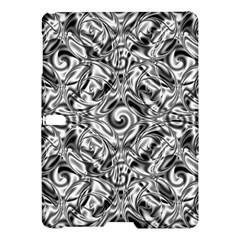 Gray Scale Pattern Tile Design Samsung Galaxy Tab S (10 5 ) Hardshell Case  by Nexatart
