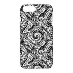 Gray Scale Pattern Tile Design Apple Iphone 7 Plus Hardshell Case