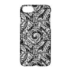 Gray Scale Pattern Tile Design Apple Iphone 7 Hardshell Case by Nexatart