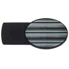 Sheet Holes Roller Shutter Usb Flash Drive Oval (2 Gb)