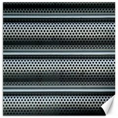Sheet Holes Roller Shutter Canvas 12  X 12   by Nexatart