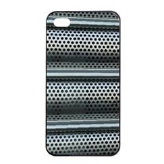 Sheet Holes Roller Shutter Apple Iphone 4/4s Seamless Case (black)