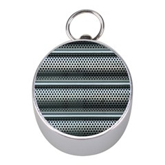 Sheet Holes Roller Shutter Mini Silver Compasses by Nexatart