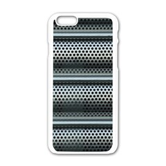 Sheet Holes Roller Shutter Apple Iphone 6/6s White Enamel Case by Nexatart