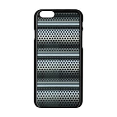 Sheet Holes Roller Shutter Apple Iphone 6/6s Black Enamel Case by Nexatart