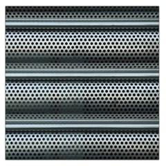 Sheet Holes Roller Shutter Large Satin Scarf (square) by Nexatart