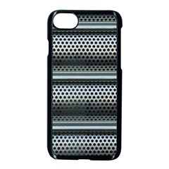Sheet Holes Roller Shutter Apple Iphone 7 Seamless Case (black) by Nexatart