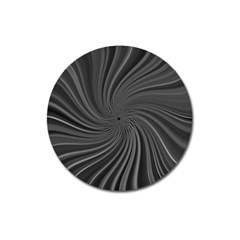 Abstract Art Color Design Lines Magnet 3  (round) by Nexatart