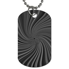 Abstract Art Color Design Lines Dog Tag (two Sides) by Nexatart