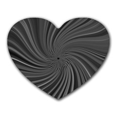 Abstract Art Color Design Lines Heart Mousepads by Nexatart