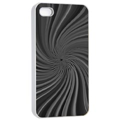 Abstract Art Color Design Lines Apple Iphone 4/4s Seamless Case (white) by Nexatart
