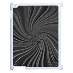 Abstract Art Color Design Lines Apple Ipad 2 Case (white) by Nexatart