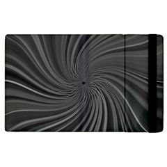 Abstract Art Color Design Lines Apple Ipad 3/4 Flip Case by Nexatart